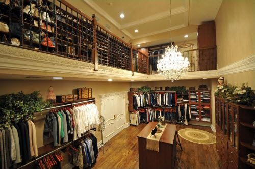 Two Story Closet. Need This Now. | Dream Home | Pinterest | Dressing Room,  Master Closet And House