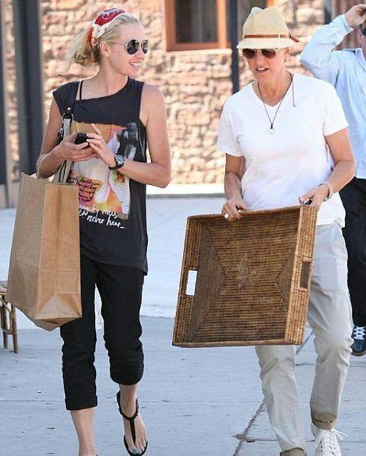 Portia And Wife Ellen And Portia Portia De Rossi The Ellen Show