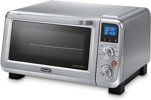 New De Longhi Eo141164m Livenza 0 5 Cu Ft Air Fry Digital Convection Oven Online Shopping In 2020 Convection Toaster Oven Convection Toaster Oven