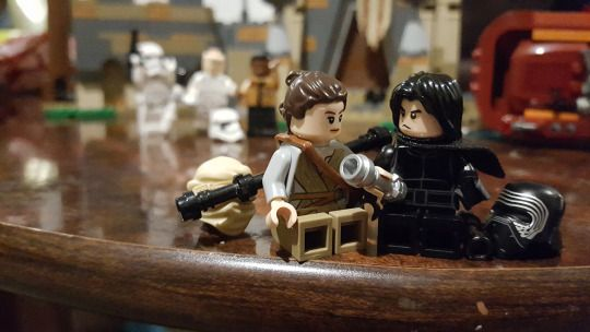 Rey & Kylo Ren - Lego