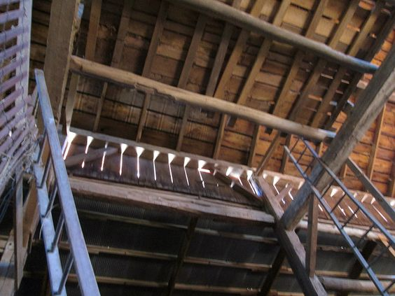 hayloft ladders | Flickr - Photo Sharing!