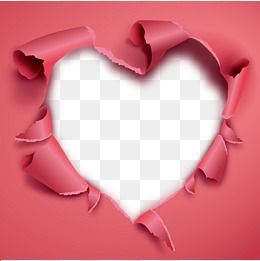 Love Love Hole Gules Decorate Heart Vector Free Clip Art Photoshop Design Free Overlays