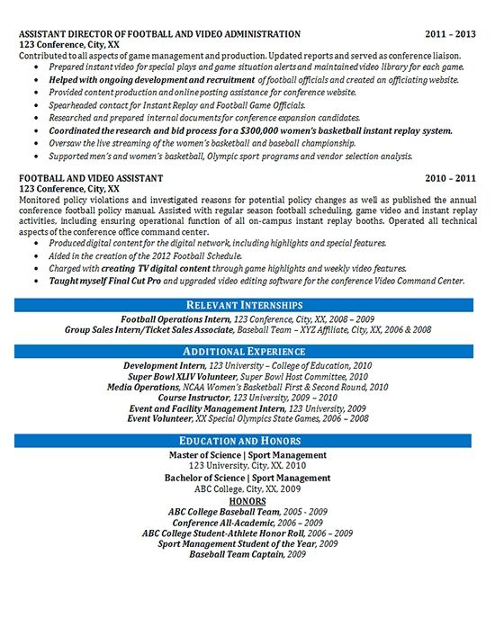 Great Student Athlete Resume Template Collection Resume Examples
