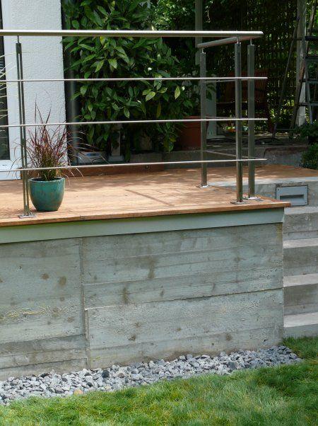 Einfamilienhaus berlin terrassenanbau aus beton und for Einfamilienhaus berlin
