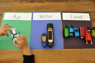 Sorting Sprinkles: Trains Week for Preschoolers