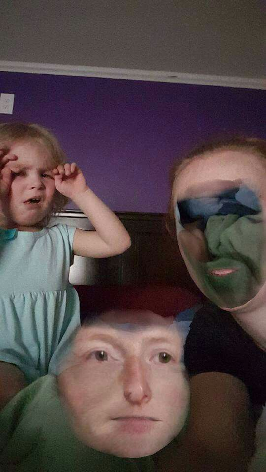 Face swap fail