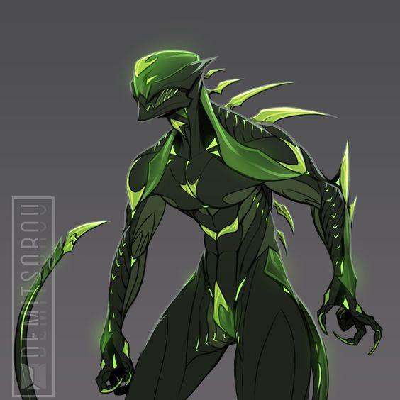 Bio Alien Minecraft Skin