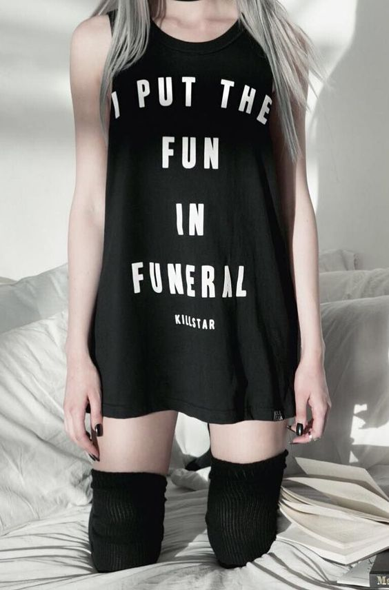 Killstar - Funeral Muscle Tank