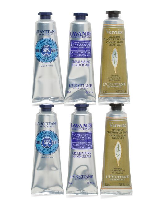 Made In France 6pc Happy Hand Creams