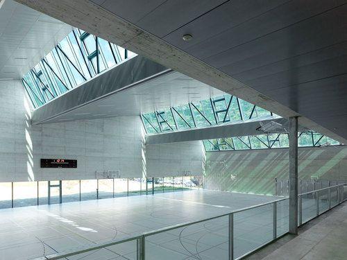 meyer architecture savioz fabrizzi architectes salle de sport architecture