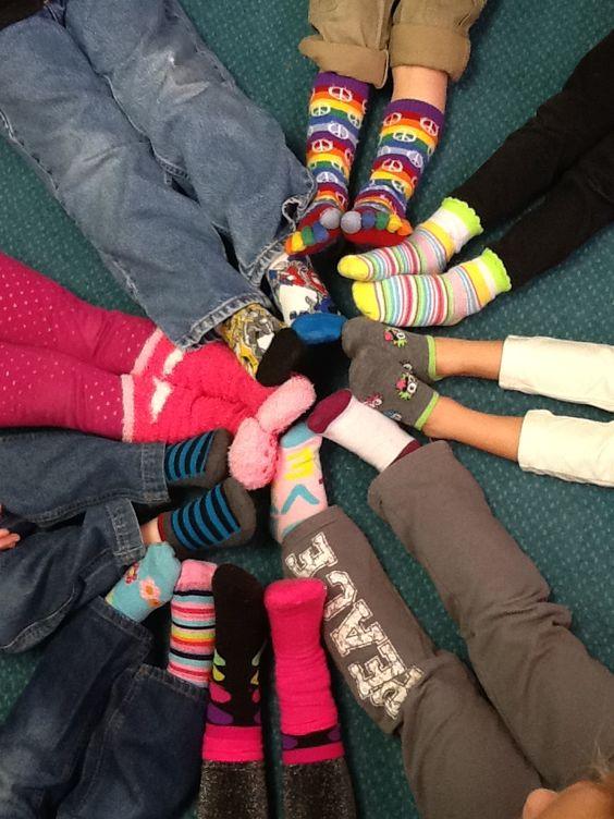 dr. Seuss prek unit: Fox in Socks - silly sock day