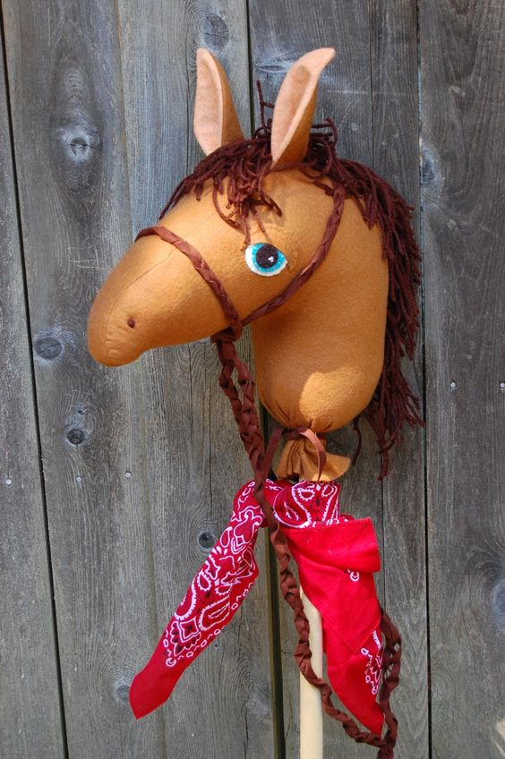 Hobby horse pattern + Tutorial | crafts | Pinterest | Hobby Horse