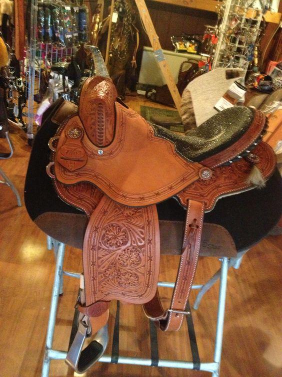 The Ghost Barrel Saddle.  #barrelsaddles #custombarrelsaddle. Visit us on FB www.facebook.com/Northerntack