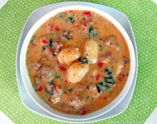 gnocci soup