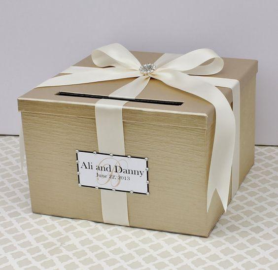 Gold Wedding Gift Card Holder : wedding wedding 12 12 2014 wedding cont denver wedding wedding ...
