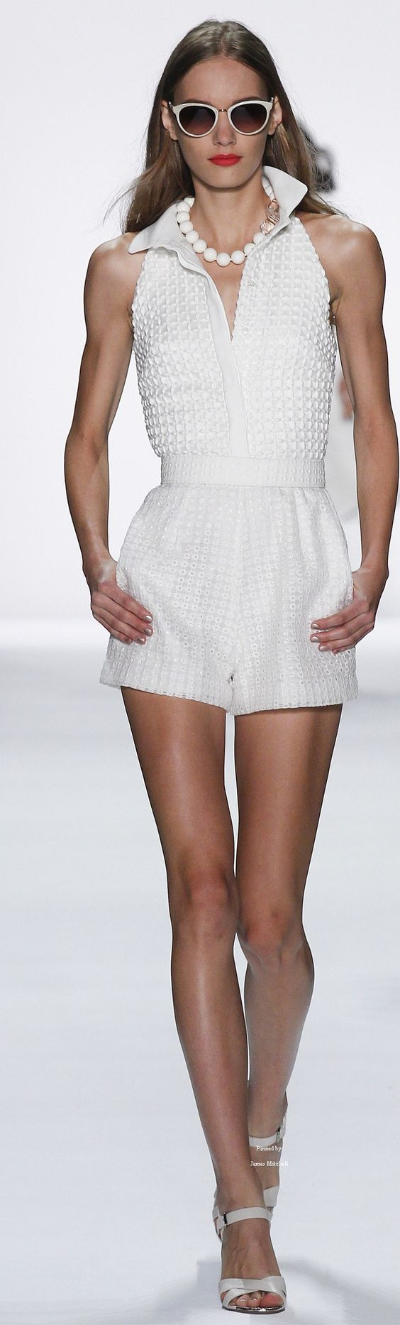 Badgley Mischka Collection Spring 2016 Ready-to-Wear:
