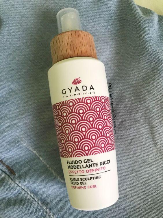 Gyada Cosmetics - Fluido Gel Modellante Ricci Effetto Definito review fataarancio 1