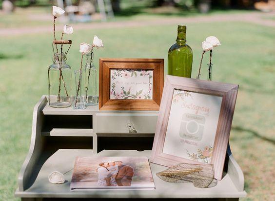 Livre d'or personnalisé avec photo des mariés