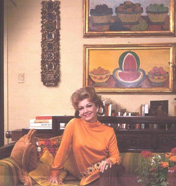 Anne Baxter, 1960s living room   ♡SWINGIN SIXTIES♡   Pinterest