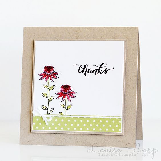 Stampin' Up! | Global Design Project - Colour Challenge | By Louise Sharp: