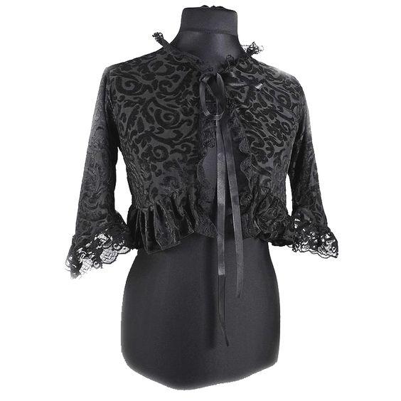 bolero blazer cropped Jacket with sleeves 0030