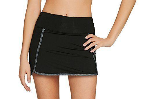 Cityoung Women's Athletic Gym Tennis Skirt with Shorts Running Skort |  Tennis skirt, Athletic women, Ball skirt