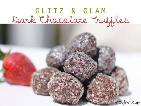Amazingly simple dark chocolate truffle recipe!