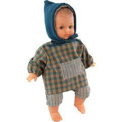 Baby-Puppe aus Bio-Baumwolle von Vilac/Petitcollin