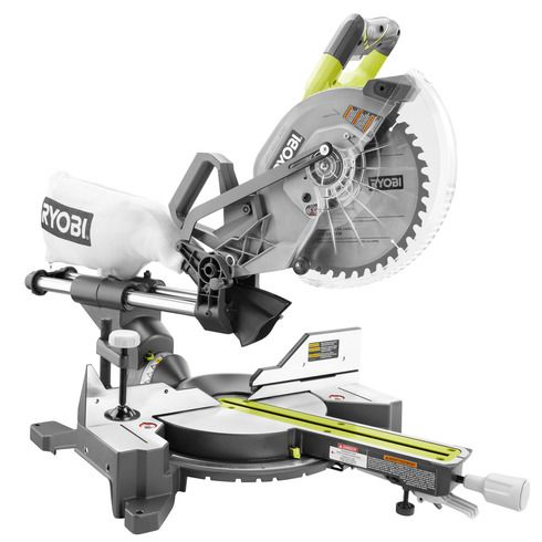 Ryobi 18v One 10 Inch Miter Saw Used Woodworking Tools Sliding Mitre Saw Miter Saw
