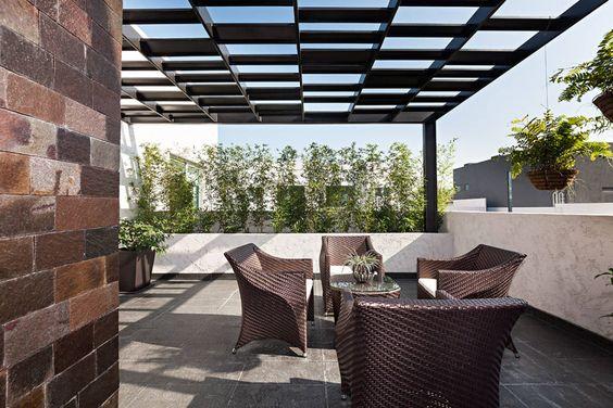 13 best images about Techos terrazas on Pinterest Terrace, Verano - balcones modernos