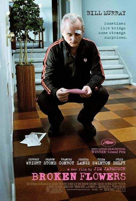 Exquisite Independent Film Posters series:  Broken Flowers
