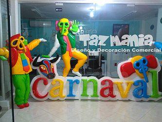 Decoracion carnaval de barranquilla 2014 buscar con for Decoracion para carnaval