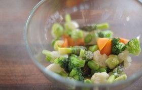 CS_Microwave Vegetables (50g 1000Watt High 30-45Secs)