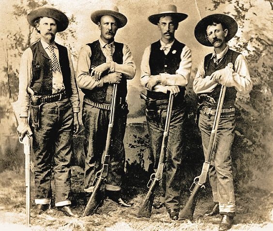 group of Texas Rangers in 1880's /1890's