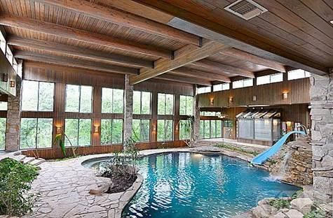 Indoor Pools Indoor And Houses For Sales On Pinterest