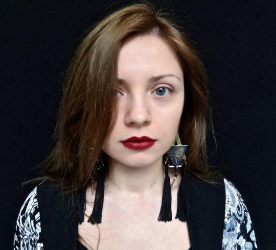Lithi 2  Handmade drop earrings from by BlameEve on Etsy, €31.00