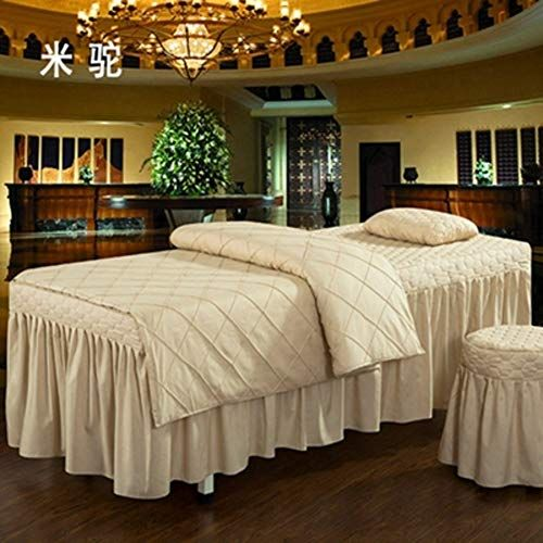 Amy Massage Table Sheet Sets Salon Bed Cover Bed Beauty Bed Skirt