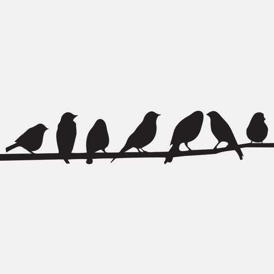 Superbalist Decals - Birds on a Wire Wall Decal