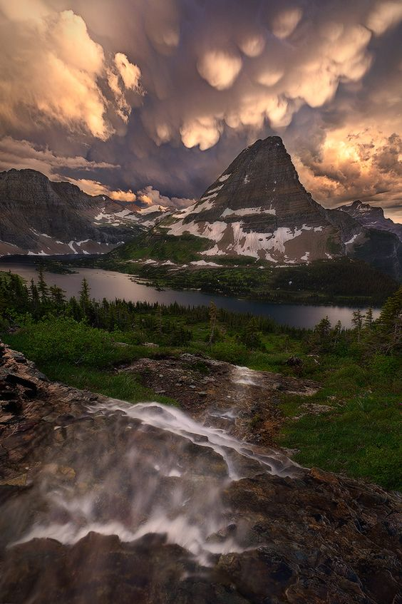 Descent to Explosion by Miles Morgan: Park Montana, Favorite Places Spaces, Miles Morgan, Glacier National Parks, Beautiful Places, Beautiful Landscapes, Amazing Places, Mother Nature, Beautiful Nature