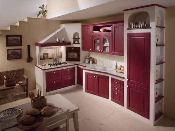 cucine da sogno in muratura - Cerca con Google Kitchens - küche aus porenbeton