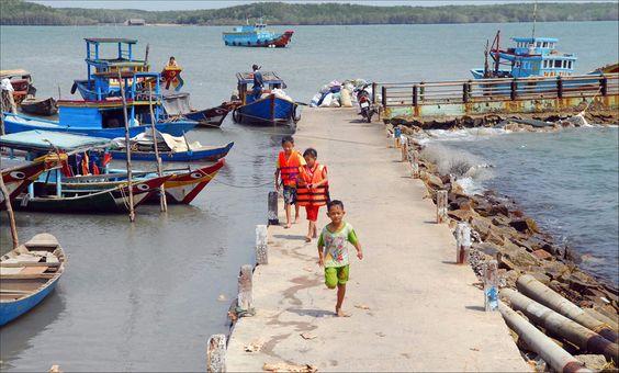Xã đảo nhỏ bé nhưng có hơn 1000 hộ dân sinh sống.