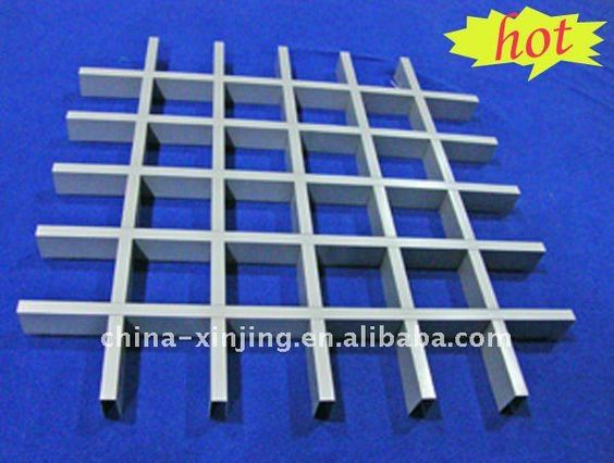 grated ceilings | aluminum grate ceiling tile (ISO9001,CE)