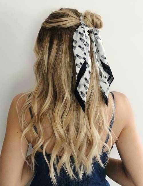 Our Online Store Offer Wallet Friendly And Fashionable Clothing So You Can Stay On Trends And On Budge In 2020 Hair Scarf Styles Scarf Hairstyles Long Hair Styles