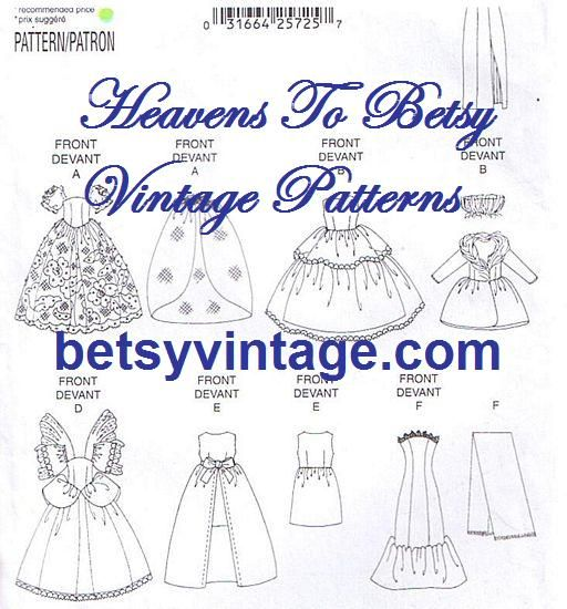Free Printable Doll Clothes Patterns | Measuring Correctly: 18-inch ...