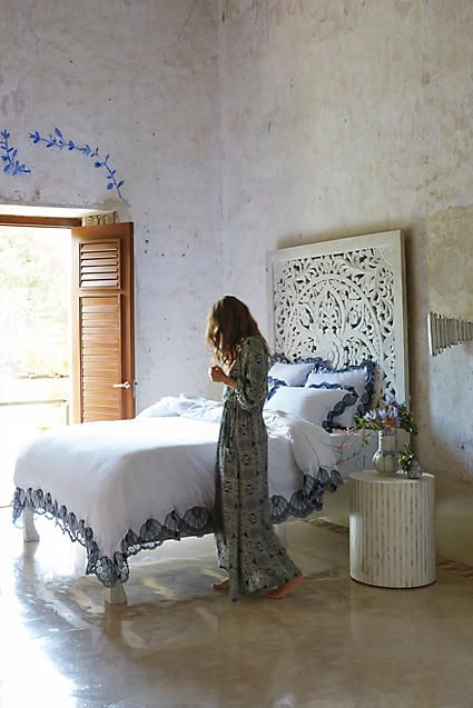 Eyelet Embroidered Duvet - anthropologie.com:
