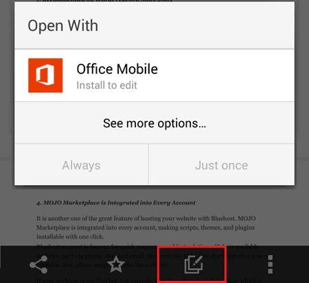 Edit Office Files in Dropbox