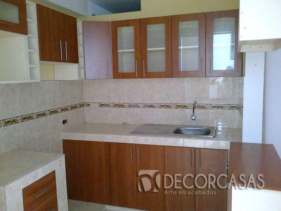 Muebles de cocina de ceramica buscar con google cocinas de concreto pinterest google - Buscar muebles de cocina ...