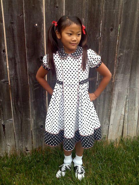 Easter dresses.  SF
