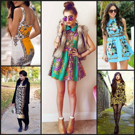 Barok Elbise Modelleri