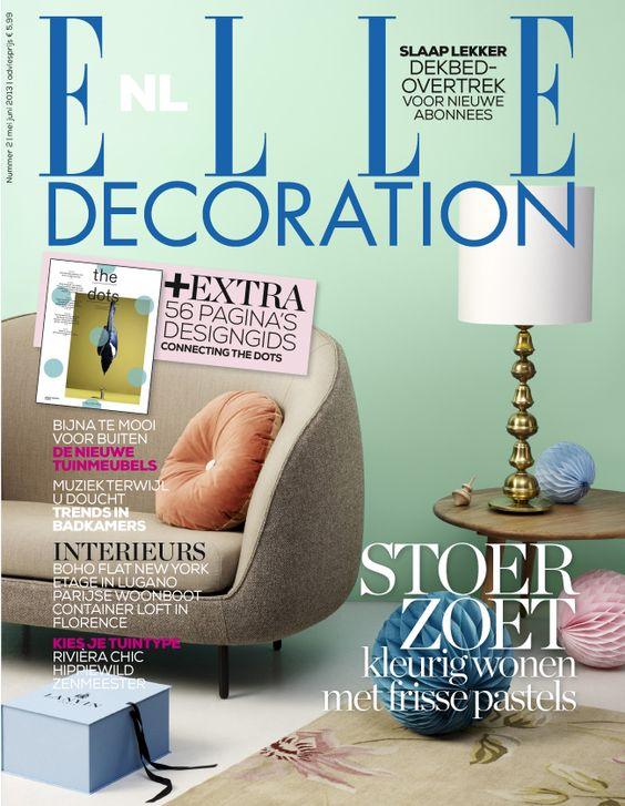 Cover Elle Decoration Nl Nummer 2 2013 For The Home